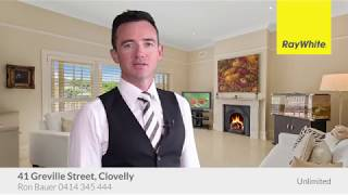 SOLD UNDER THE HAMMER! WELCOME TO YOUR NEW HOME! - 41 Greville Street, Clovelly