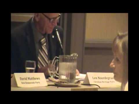 Very Good SIMCOE/GREY All-Candidates Debate (Oct.8-2015)