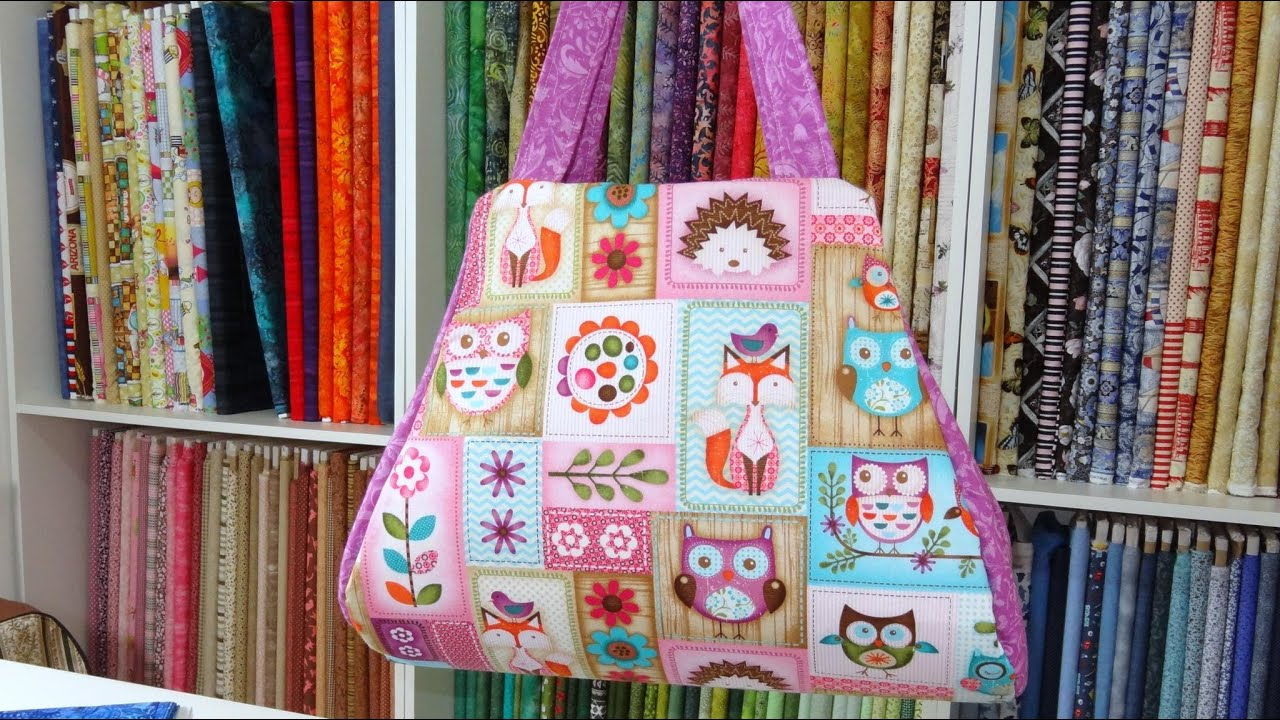Bolsa De Praia Em Tecido Passo A Passo : Bolsa de tecido dominique fabric bags tote step by