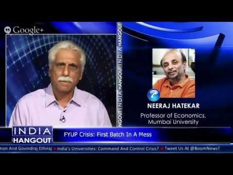 India's Universities: Command And Control Crisis? Join Govindraj Ethiraj, Ayaz Memon, Neeraj Hath...