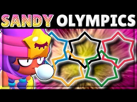SANDY OLYMPICS!   How does SANDY do in EVERY Test?!   In-Depth Mechanics!   New Brawler