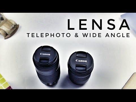 Lensa Wide & Tele Terjangkau Untuk Canon APS-C | Buka Kotak