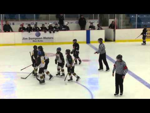 North Side Vikings vs Truro Peewee A