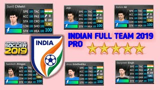 India 2019 new update full team   in dream League Soccer 2019   download now