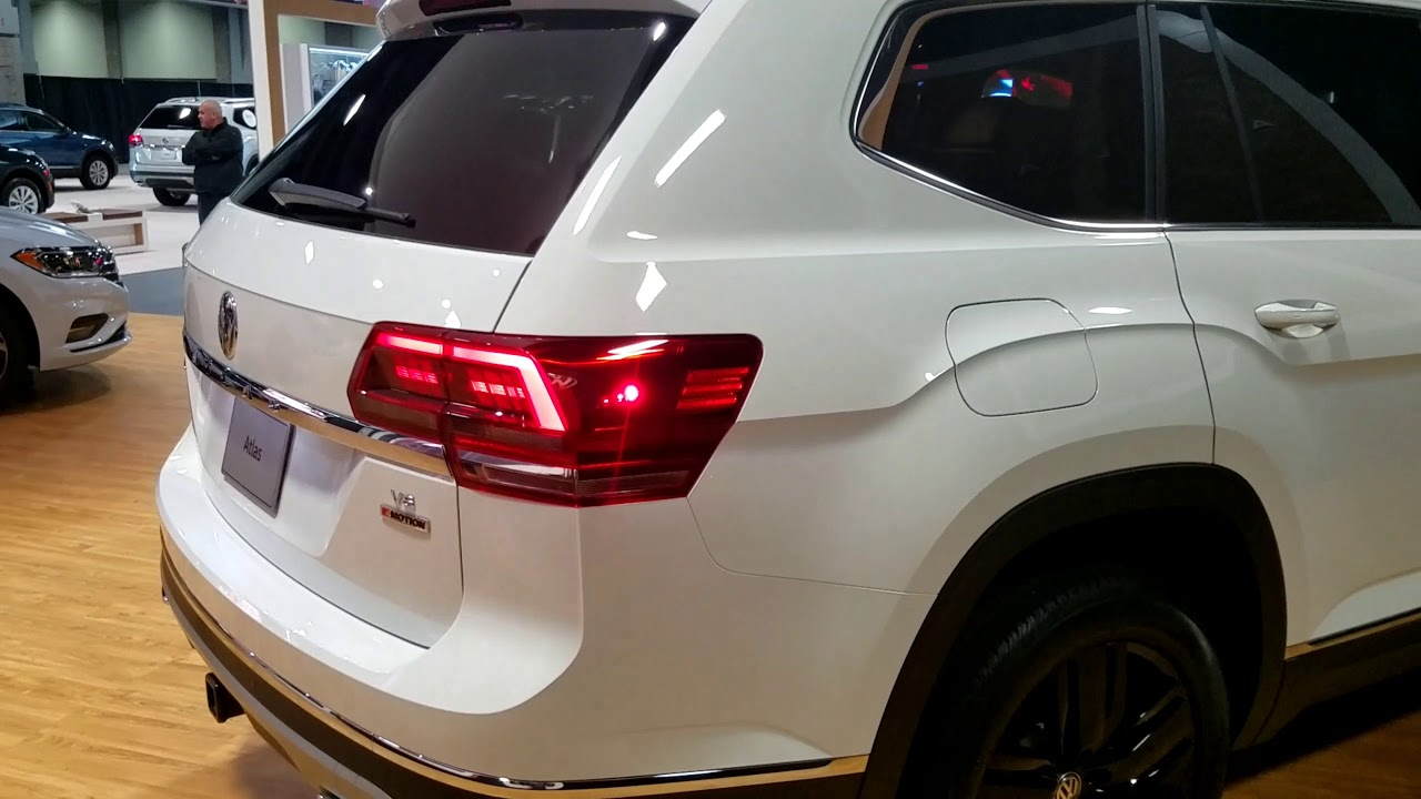 2019 Volkswagen Atlas at 2018 Washington auto show - YouTube