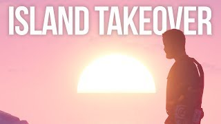 ISLAND TAKEOVER - Rust Survival #1