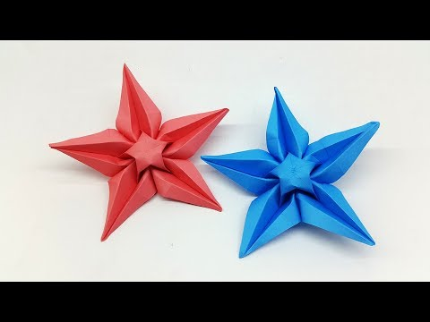 How to make Paper Star easy (Origami Star) - DIY Paper Craft Ideas