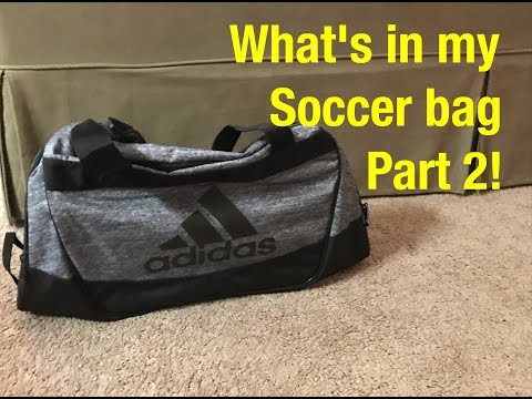 What's in my soccer bag part 2! ⚽🔥