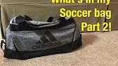 6c32f4dd8158 Adidas Men Duffle bag - YouTube