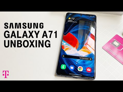 Samsung Galaxy A71 5G Phone Unboxing | T-Mobile