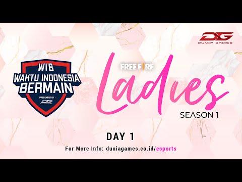 DGWIB : Free Fire Ladies Season 1 (Day 1)
