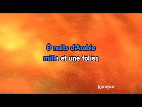 Karaoké Nuits d'Arabie - Aladdin *