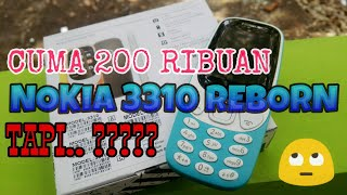 Review++ NOKIA 3310 reborn indonesia - cuma 200 ribuan. Tapi..???