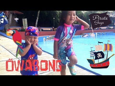 Serunya Bermain Air di Wisata Keluarga OWABONG Purbalingga