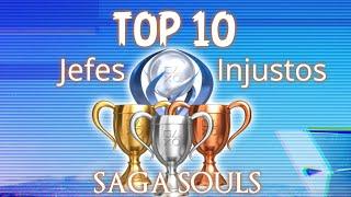 TOP 10 Jefes mas Injustos - Saga Souls