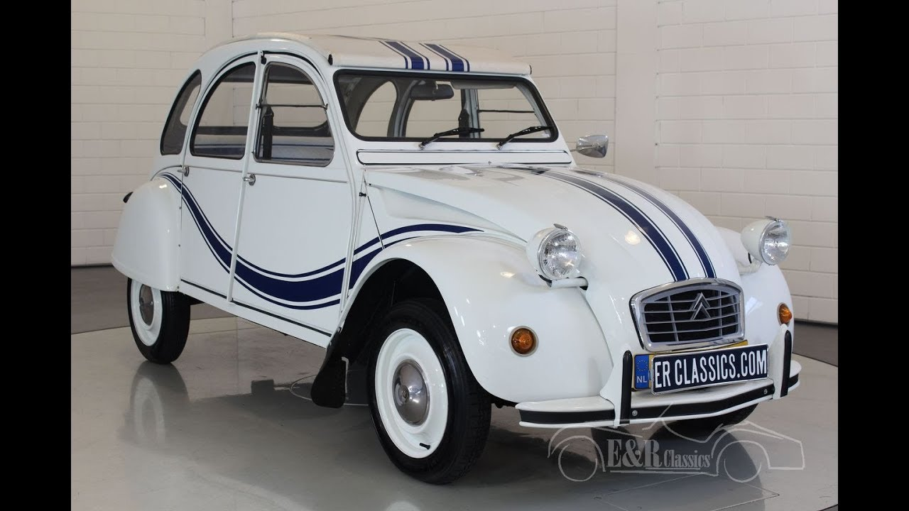 citroen 2cv 1984 video youtube. Black Bedroom Furniture Sets. Home Design Ideas