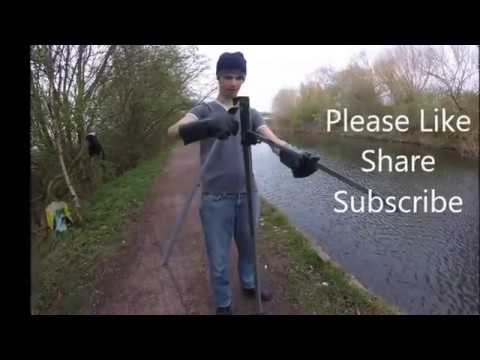 Magnet fishing uk looking for scrap metal found 20 finds for Magnet fishing finds