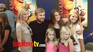 Ricky Schroder, Andrea Bernard and Family at