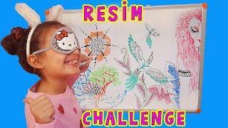 Gözü Kapalı Çizim Yarışması | Eğitici ve Eğlenceli | UmiKids