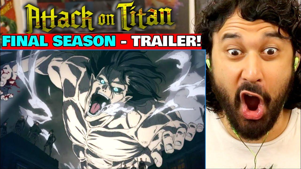 ATTACK ON TITAN - Season 4 (FINAL SEASON) | TRAILER REACTION!