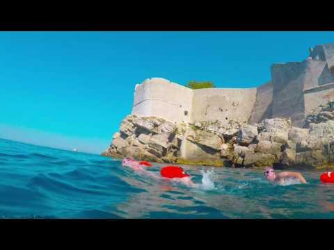 Dubrovnik Croatia Open Water Swimming 2017