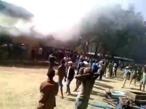 Ethiopian goverment burning church to trigger tribal and religious war in Ethiopia - October 2016