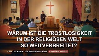 Warum ist die Trostlosigkeit in der religiösen Welt so weitverbreitet?