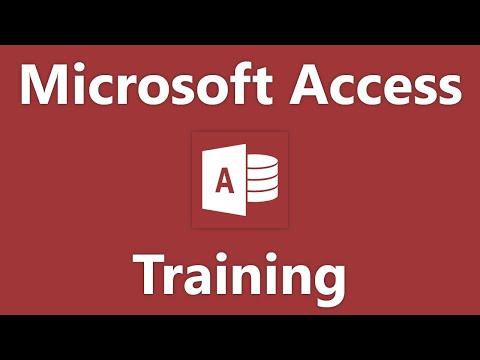 Access 2013 Tutorial Using Charts Microsoft Training Lesson 16.1