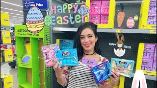 WALMART EASTER 2021!!! SNEAK PEEK, DECORATIONS, EASTER CANDY+MORE