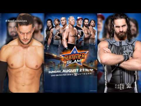 "WWE: SummerSlam 2016 2nd OFFICIAL Theme - ""Who's with Me"" by Flo Rida"