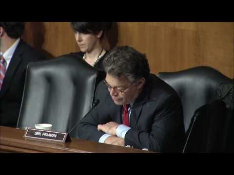 Sen. Franken Questions Panel on Rare Diseases and Medical Devices in HELP Committee