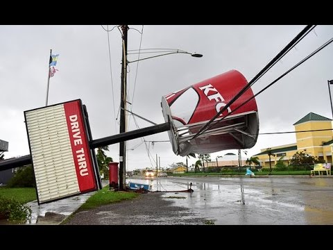 Hurricane Matthew Hits East Coast 07 10 2016