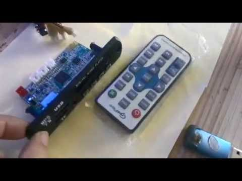 usb fm radio mp5 video player module from J&K Ideal CO.