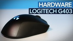 Logitech G403 im Test - Kabellose Spielermaus mit 12.000 dpi