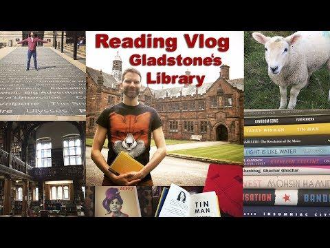 Reading Vlog: Gladstone's Library