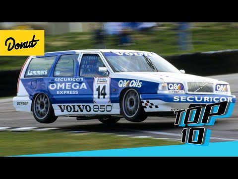 Top 10 Craziest Station Wagons | Donut Media