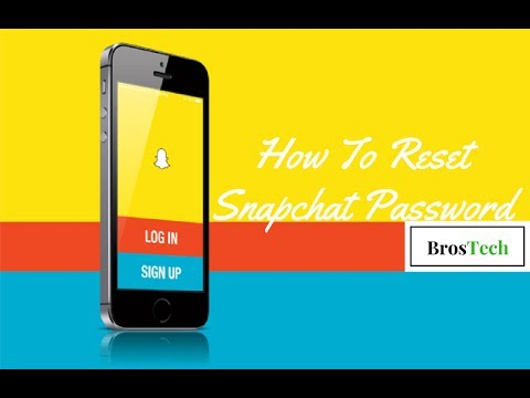 Recover snapchat password without phone number