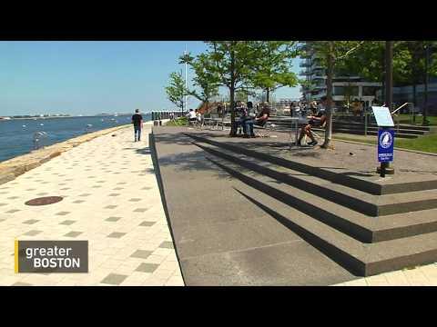 Boston Harbor Barrier Wall
