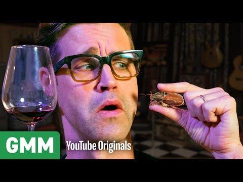 Bug and Wine Pairing Taste Test