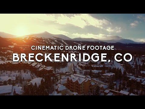 Breckenridge Cinematic Drone Test (DJI Phantom 3 Standard)