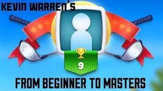 Golf clash tour 4 beginner to master series. Also league rankings vs who you play in the tournaments