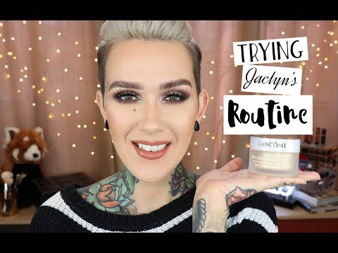 Trying Jaclyn Hill's Powder Routine: Lancome Absolue Peche