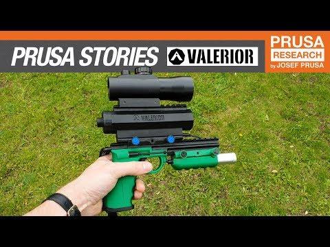 Prusa 3D Printing Stories: Valerior Ultimate Laser Game System