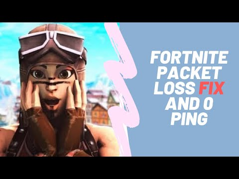 CHAPTER 2 FORTNITE HOW TO GET LOWER PING AND 0% PACKET LOSS FIX LAG GAMING