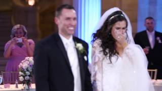 this bride thought her first dance was ruined you won t believe what happened next