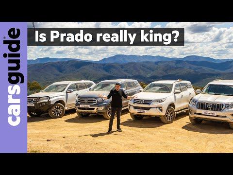 Toyota Prado Vs Toyota Fortuner Vs Ford Everest Vs Mitsubishi Pajero Sport 2020 Comparison Review