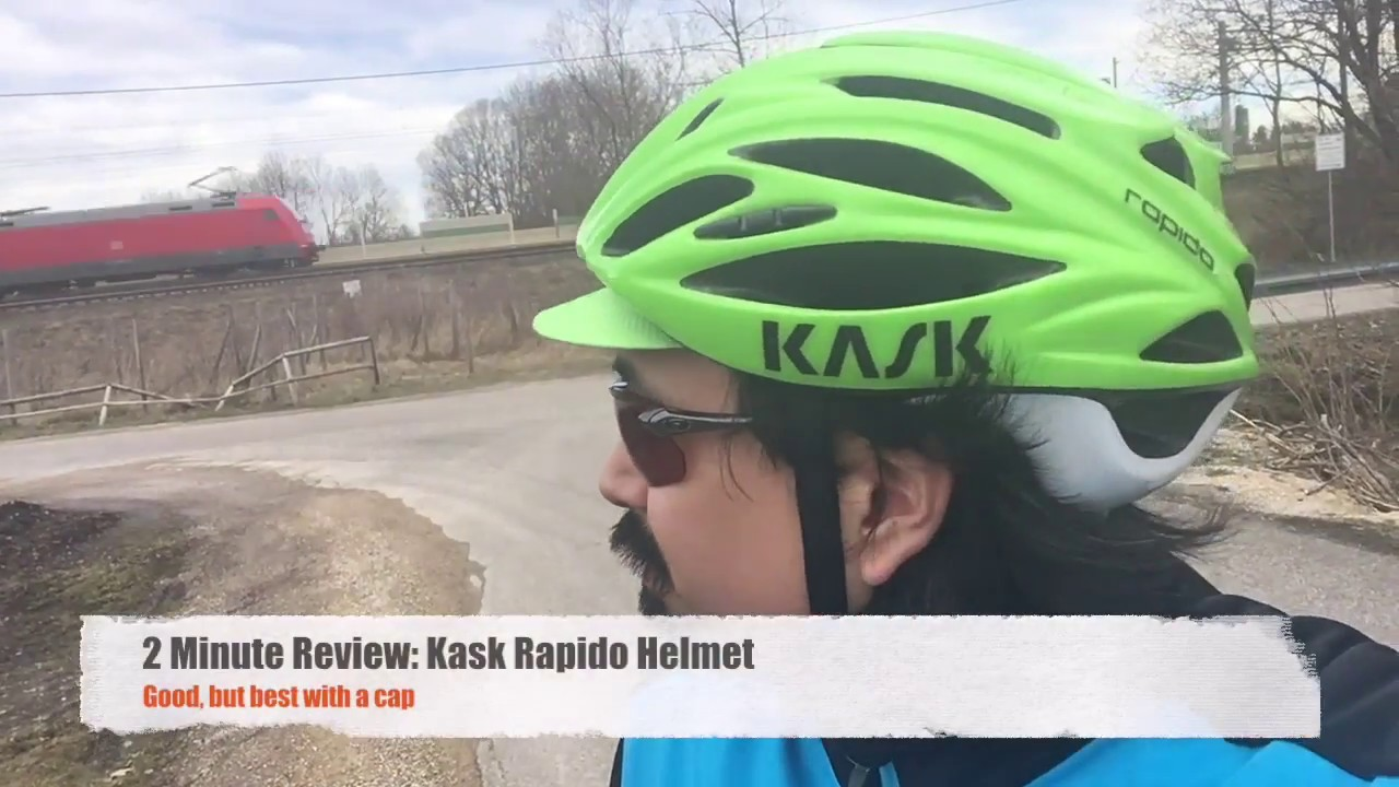 Kask Rapido  2 Minute Review - YouTube ed7543566