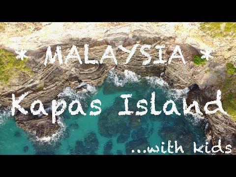 #23. Exploring Kapas Island | Malaysia 2017 | Travel Vlog