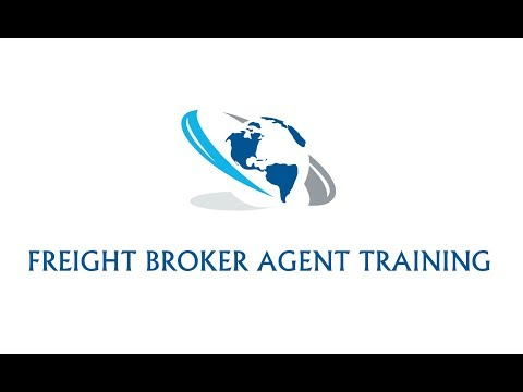FREIGHT BROKER AGENT TRAINING AND SIGN-ON