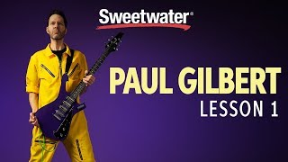 """Paul Gilbert Guitar Lesson 1: Skipping Over the """"Trouble Making"""" Sixth!"""